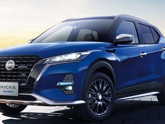 Nissan Kicks 2021 recebe enfeites Autech - Salão de Tokyo