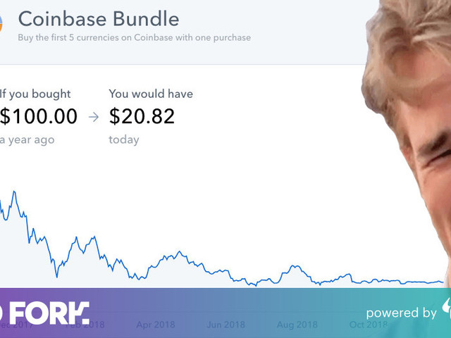 Coinbase chart is a harsh reminder of cryptocurrency's terrible 2018