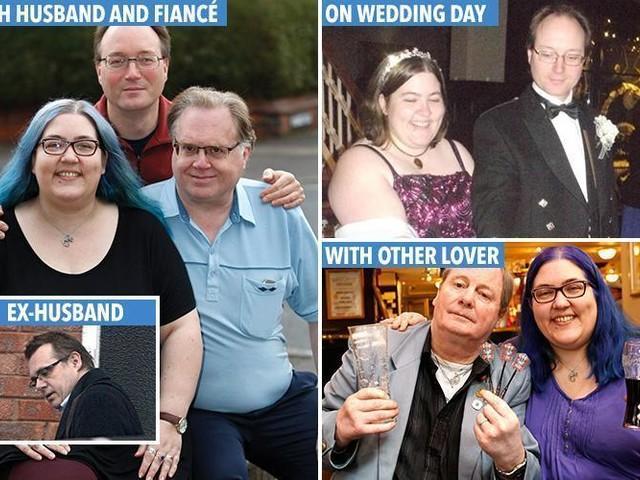 A história da mulher que tem dois namorados, um noivo e um marido