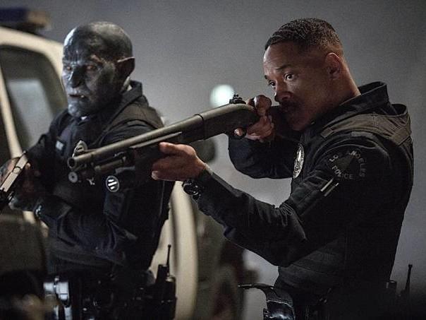 """Bright"": elfos, orcs e Will Smith numa Los Angeles barra-pesada"
