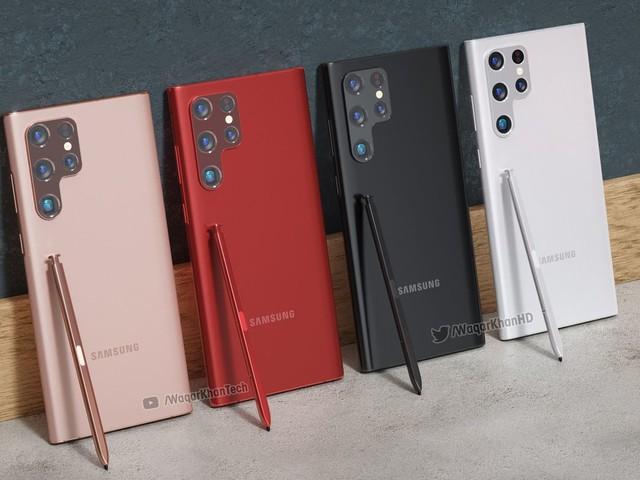 Galaxy S22 Ultra: conceito mostra mais do visual inspirado no Galaxy Note