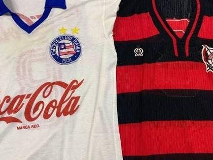 Exposição mostra camisas histórias do futebol baiano; confira