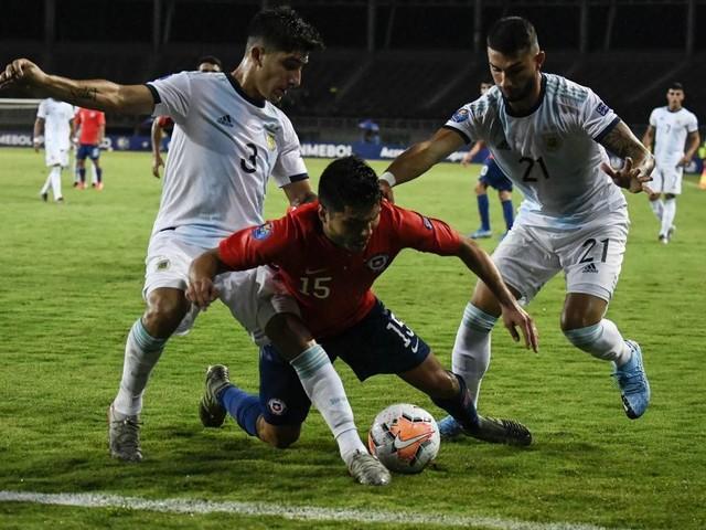Assista aos gols da vitória da Argentina sobre o Chile pelo Pré-olímpico
