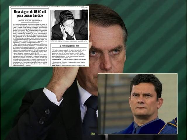 Jair Bolsonaro e Sergio Moro copiaram Garotinho e Josias Quintal