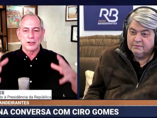 Ciro Gomes e Datena criticam pesquisas eleitorais após últimos levantamentos