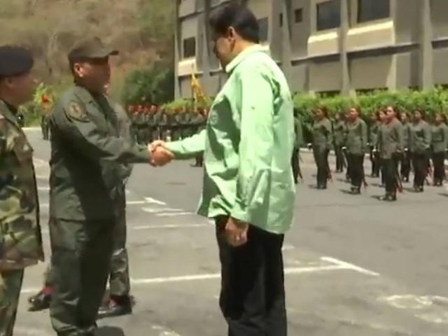 Maduro exalta força militar e aponta 'total respaldo' após morte e repressão na fronteira