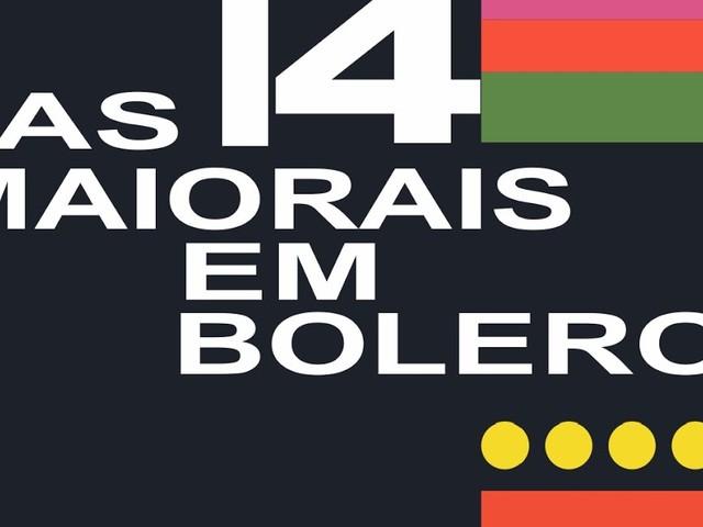 Vários intérpretes - 14 Maiorais em Boleros (LP 1964)