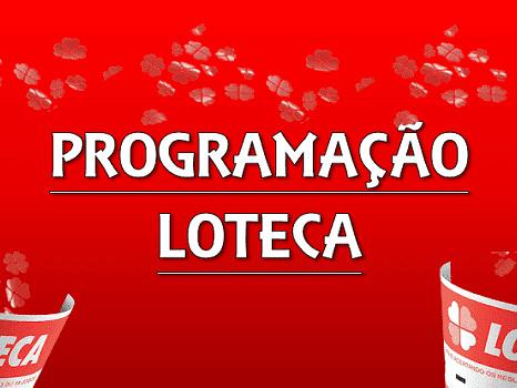 Loteca 903 programação grade dos jogos