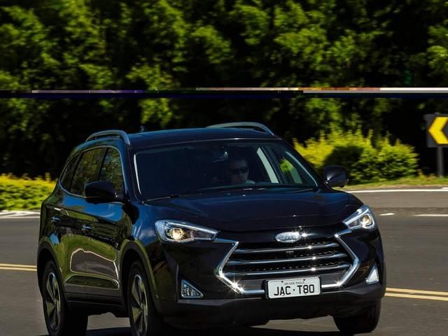 Novo JAC T80 2019 - SUV 7 lugares: fotos, preço e consumo