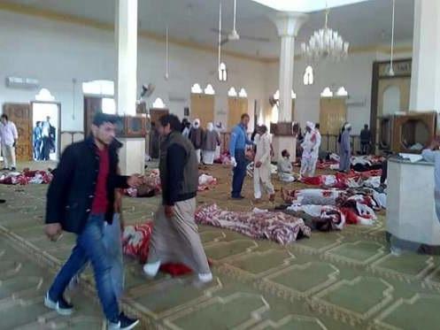 URGENTE: Mais de 200 morrem em atentado no Egito