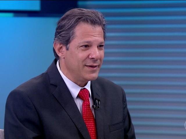 Haddad relativiza papel de Lula em sua subida nas pesquisas