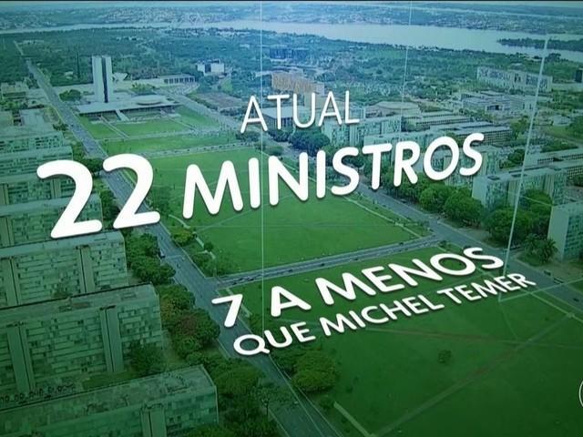 Equipe de governo do presidente Jair Bolsonaro tem 22 ministros