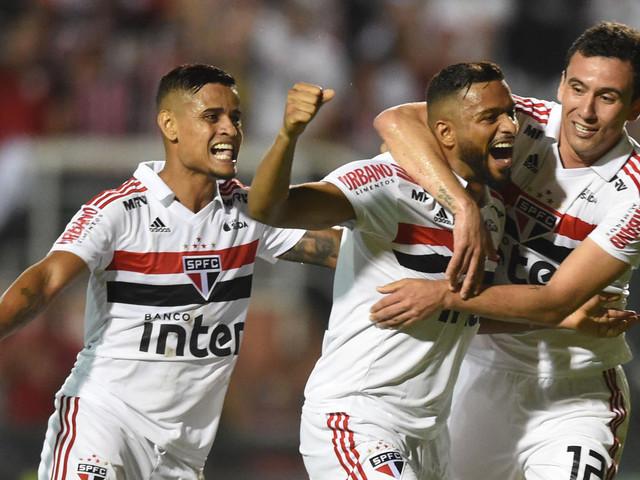 """Pablo dedica gol à família e fala em """"estreia perfeita"""" do São Paulo"""