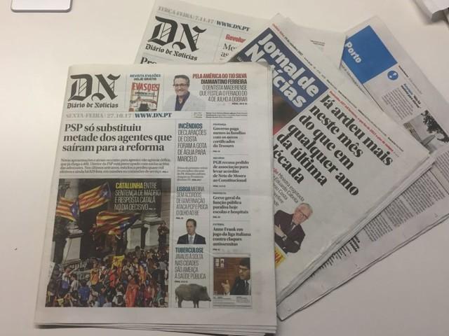 Global estuda passar Diário de Notícias a semanário