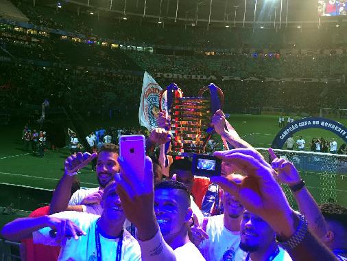 Bahia domina o Sport, vence na Fonte Nova e é tricampeão da Copa do Nordeste