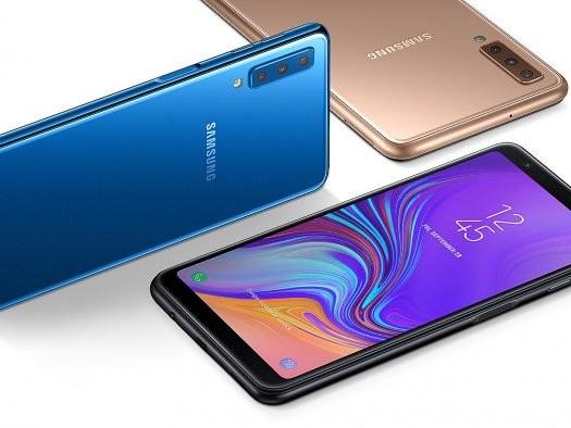 Samsung Galaxy A7 (2018) com câmera tripla chega ao Brasil por R$ 2.199