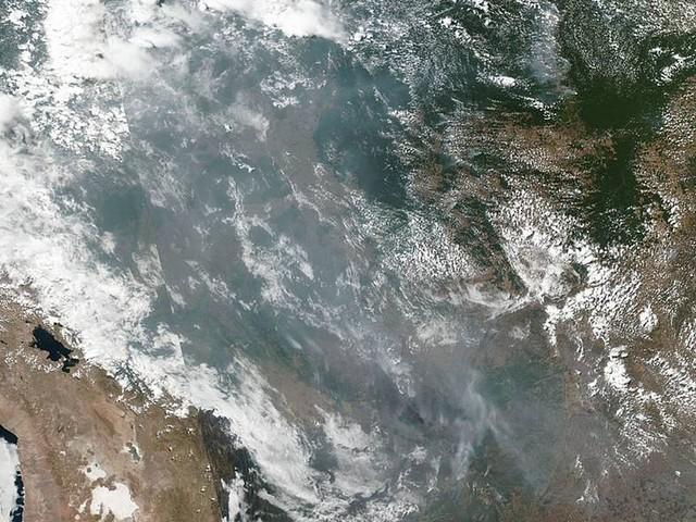 Incêndios na Amazônia podem ser vistas do espaço, mostra Nasa