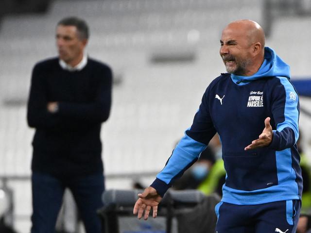 Sampaoli revela frustração com empate em casa do Olympique de Marselha