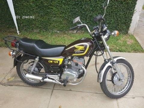 Moto Honda CM125