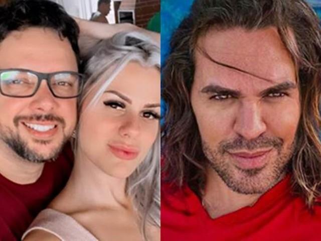 Namorada de Eduardo Costa diz que continua sustentando os filhos, ex-marido nega