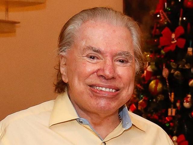 Silvio Santos, de 90 anos, é internado com Covid-19 em SP
