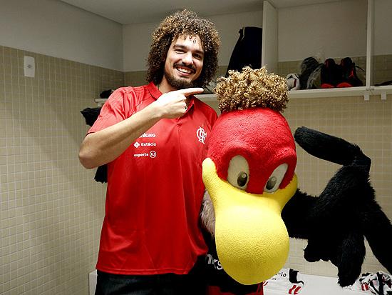 'No Flamengo eu não sou diferente de ninguém', diz Anderson Varejão