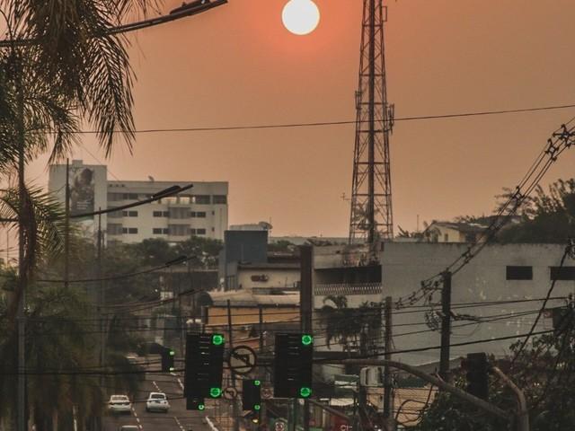 No Acre, poluição do ar está quase que três vezes acima do permitido, diz pesquisador