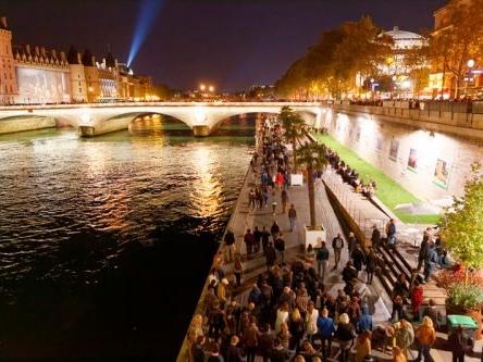 O evento Nuit Blanche 2017 em Paris