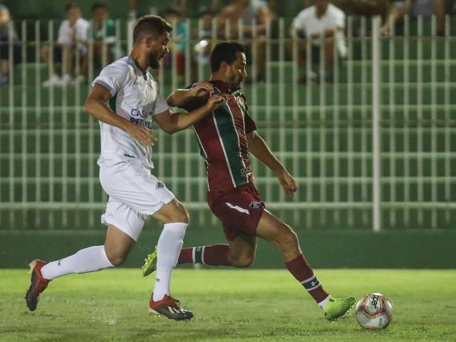 Nenê cita dificuldade, mas exalta vitória do Fluminense