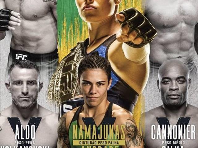 UFC 237, no Rio de Janeiro, terá Rose Namajunas x Jéssica Bate-Estaca na luta principal; veja