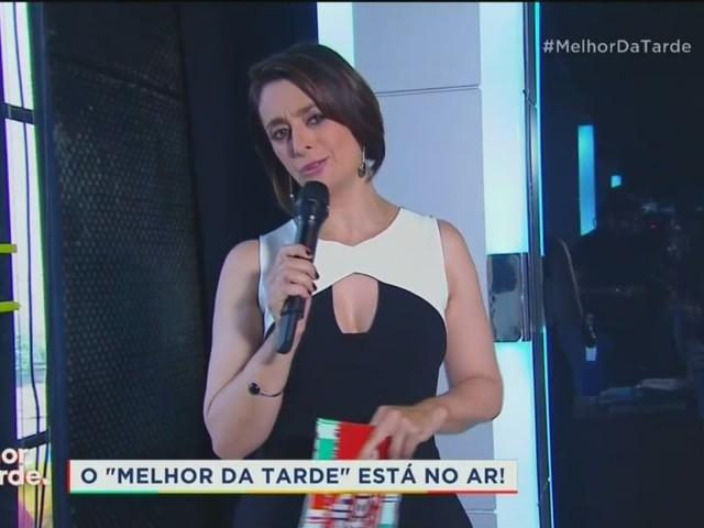 No comando do Melhor da Tarde, Catia Fonseca deve ganhar novo programa na Band
