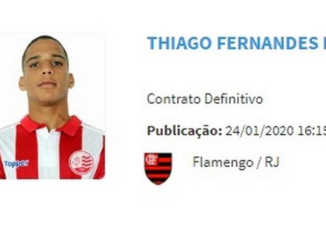 Reforço do Flamengo, atacante ex-Náutico é regularizado no BID e pode estrear