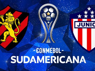 Sport x Junior da Colômbia nas quartas da Sul-Americana, valendo R$ 1,7 milhão