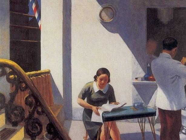 Imagem de leitura — Edward Hopper