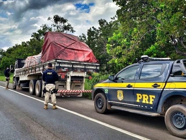 PRF reforça fiscalização em rodovias durante o feriado da Semana Santa em MT