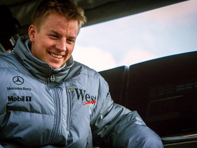 Fotos da carreira de Kimi Raikkonen na Fórmula 1