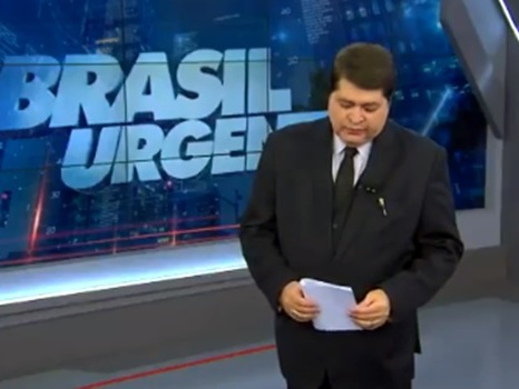 José Luiz Datena chora ao anunciar morte de Ricardo Boechat
