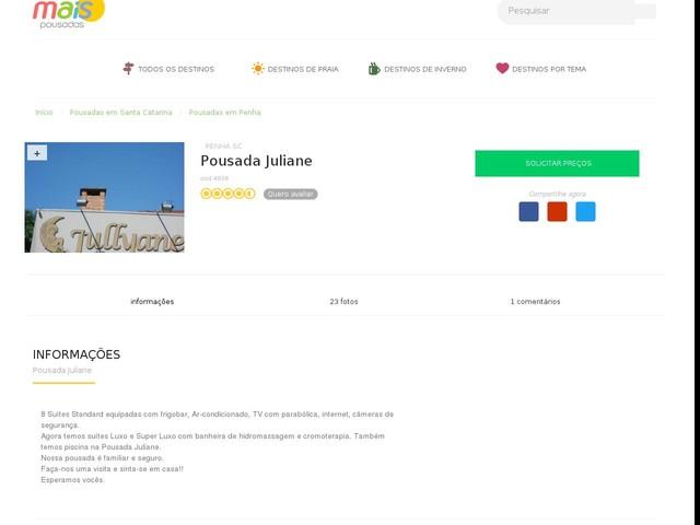 Pousada Juliane - Penha - SC