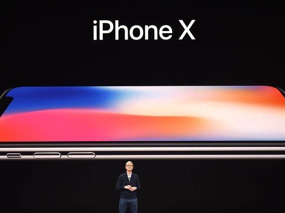 iPhone X chega ao Brasil no dia 8 de dezembro por R$ 7.000