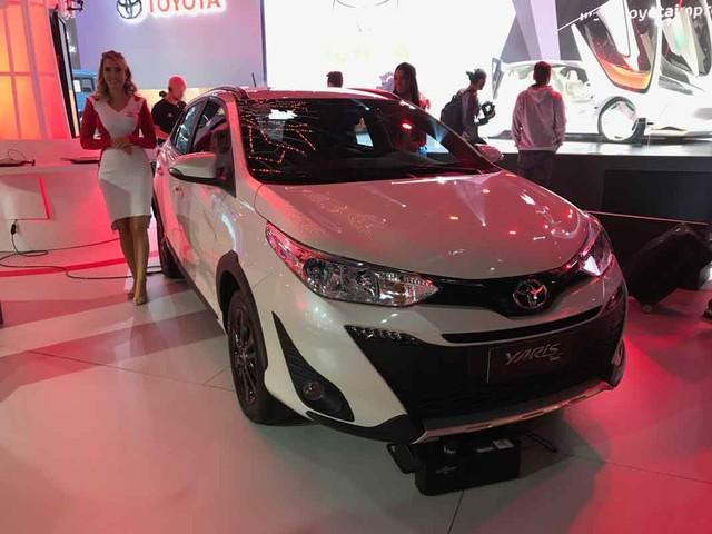 Salão do Automóvel 2018: Toyota Yaris X-Way chega em fevereiro