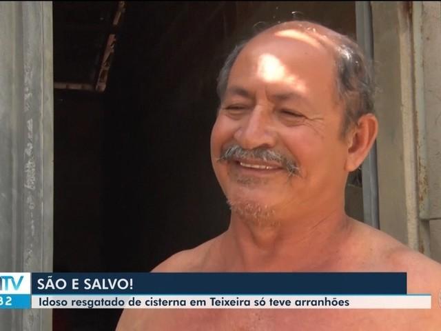 'Achei que não ia suportar', diz idoso que caiu em poço com 13 metros de profundidade na Bahia