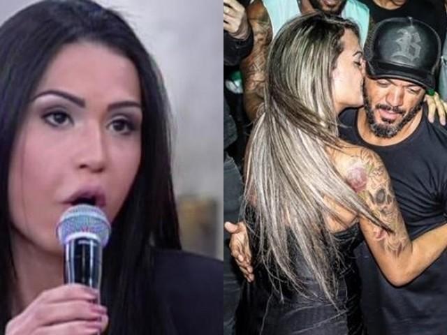"""Miss Bumbum que agarrou Belo em show se diz decepcionada e detona o cantor: """"pressionado pela mulher"""""""