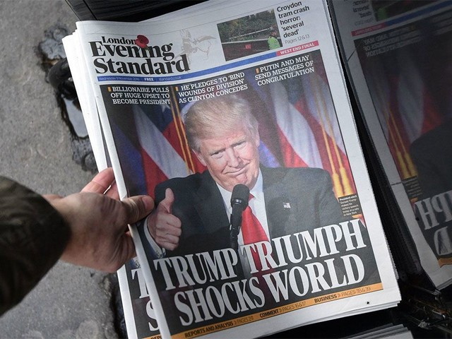 "Nos Estados Unidos, ""efeito Trump"" aumenta número de jovens pagantes por notícias online"