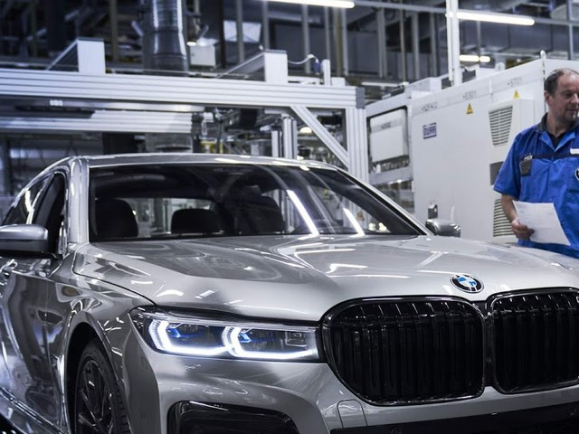 BMW Série 7 2020 começa a ser produzido em Dingolfing