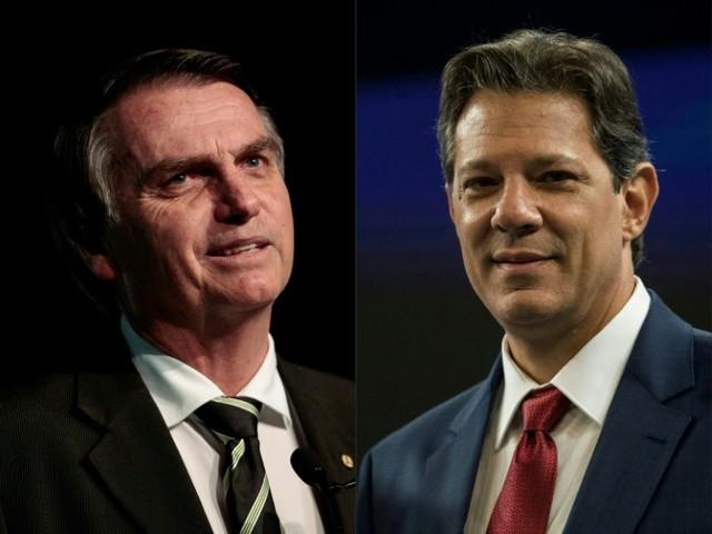 Datafolha: Bolsonaro tem 56%, e Haddad tem 44%; diferença cai 6 pontos