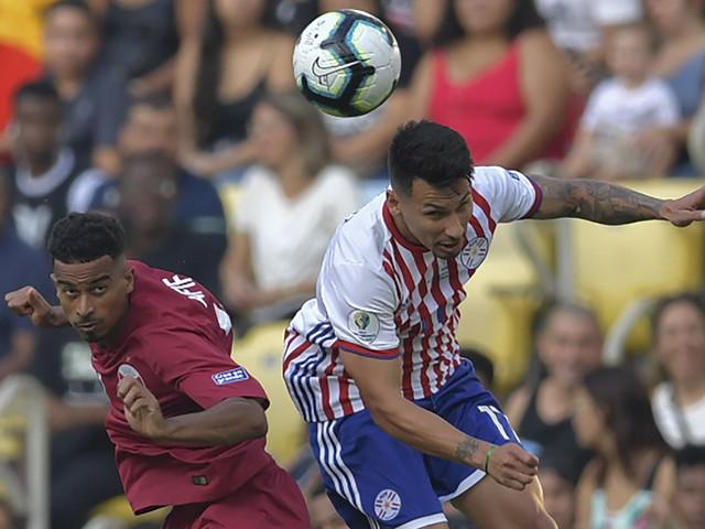 Derlis faz golaço, mas Paraguai sofre empate do Catar no Maracanã