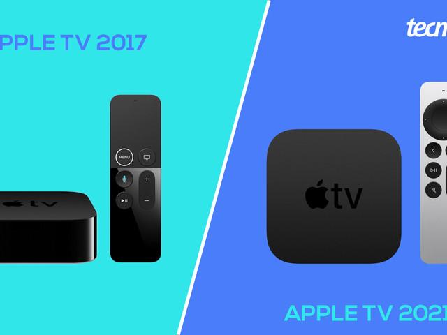 Qual a diferença do Apple TV 4K de 2017 para o de 2021?