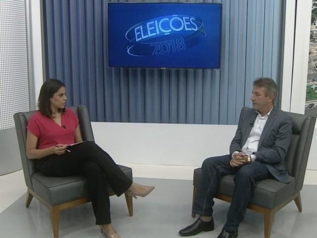 Antônio Denarium, candidato ao governo de Roraima, é entrevistado no JRR2