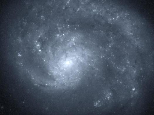 Essa galáxia espiral tem apenas um braço —e ninguém sabe o porquê