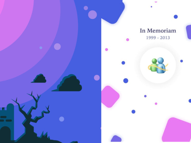 Saudades do MSN? Designer cria cemitério de programas memoráveis